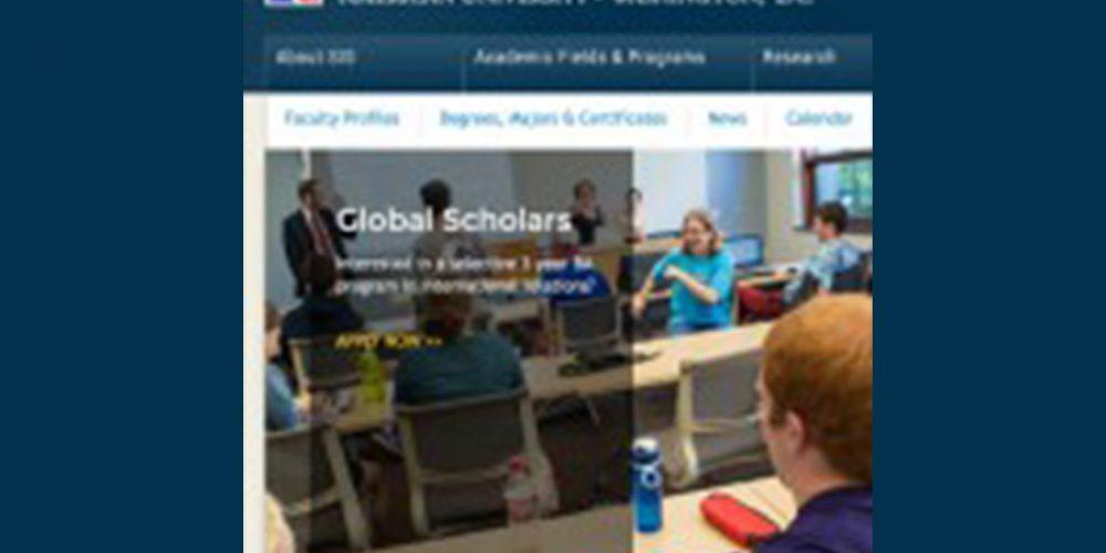Position Announcement: Global Urban Studies Assistant Professor, Washington D.C.