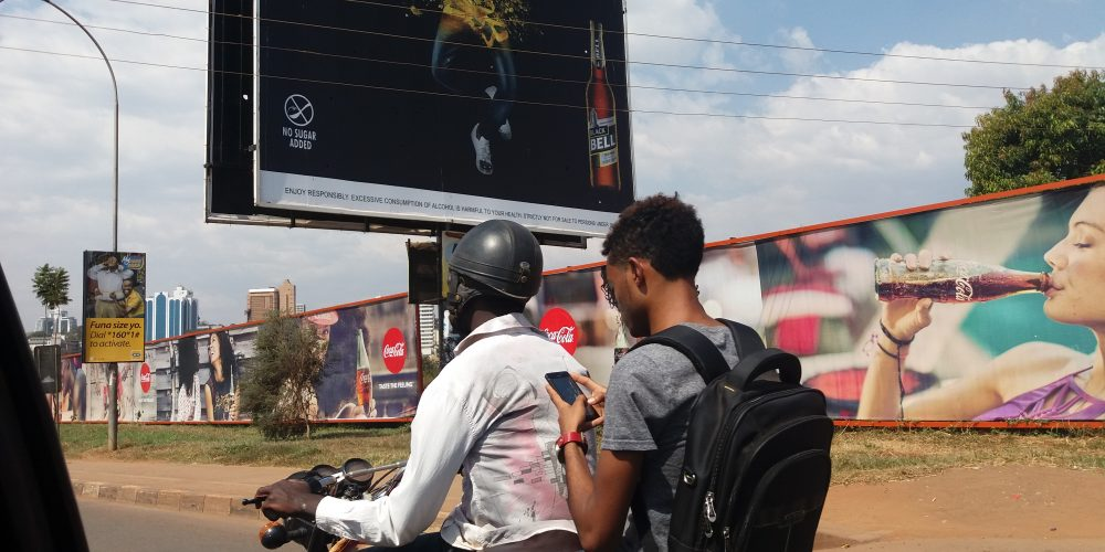 Imaginaries on researching and inhabiting a city of sprawling 'mobile' infrastructures – Nairobi